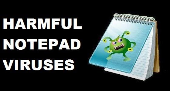 create virus using notepad pdf