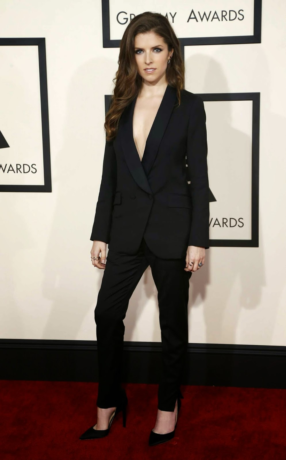Anna Kendrick – 57th Annual GRAMMY Awards in Los Angeles