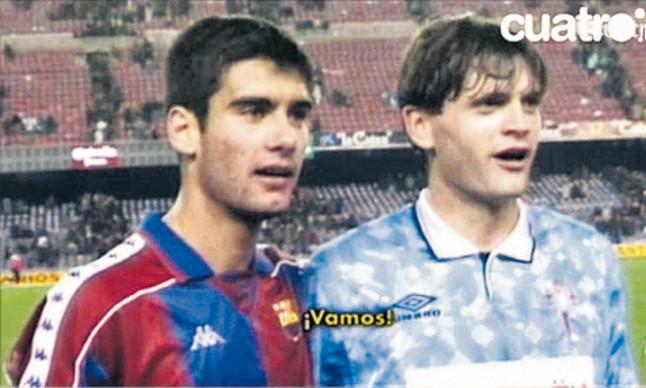 ¿Cuánto mide Pep Guardiola? - Real height Tito+Vilanova+Celta