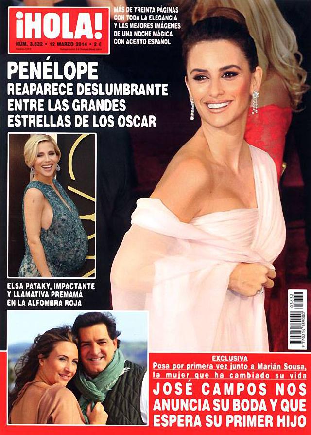 Penélope Cruz en Hola Magazine
