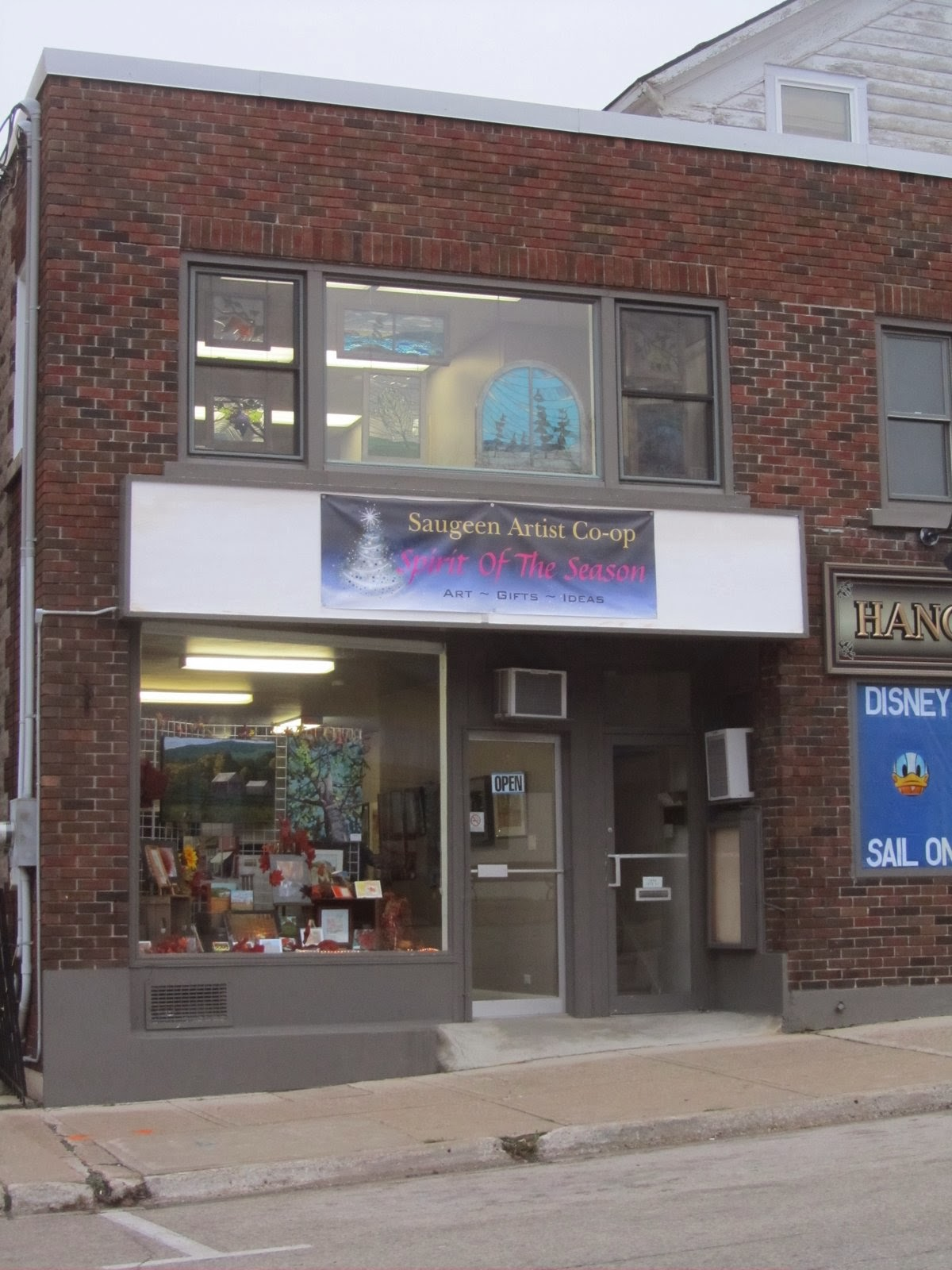 The Hanover Saugeen Artists Store is open..........