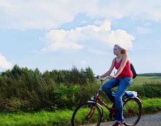 montar en bici en verano