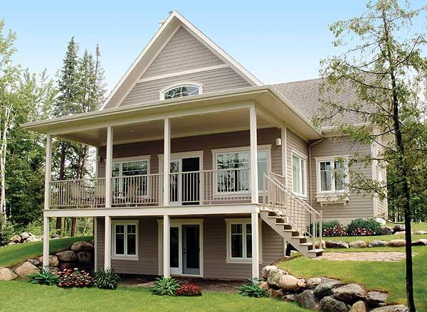 desain rumah cottage yang menarik desain denah rumah