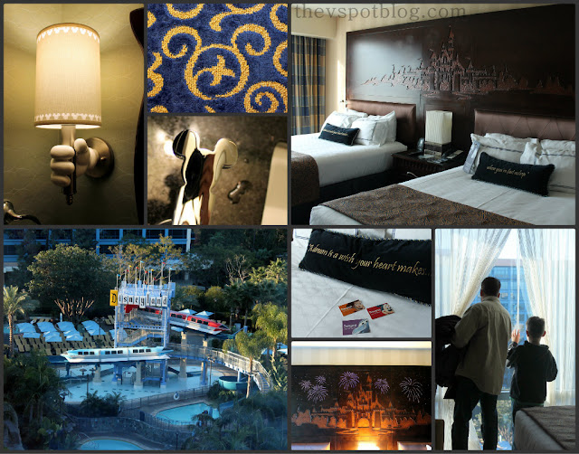 disneyland hotel room, pool view, hidden mickeys, light up head board, a dream is a wish your heart makes