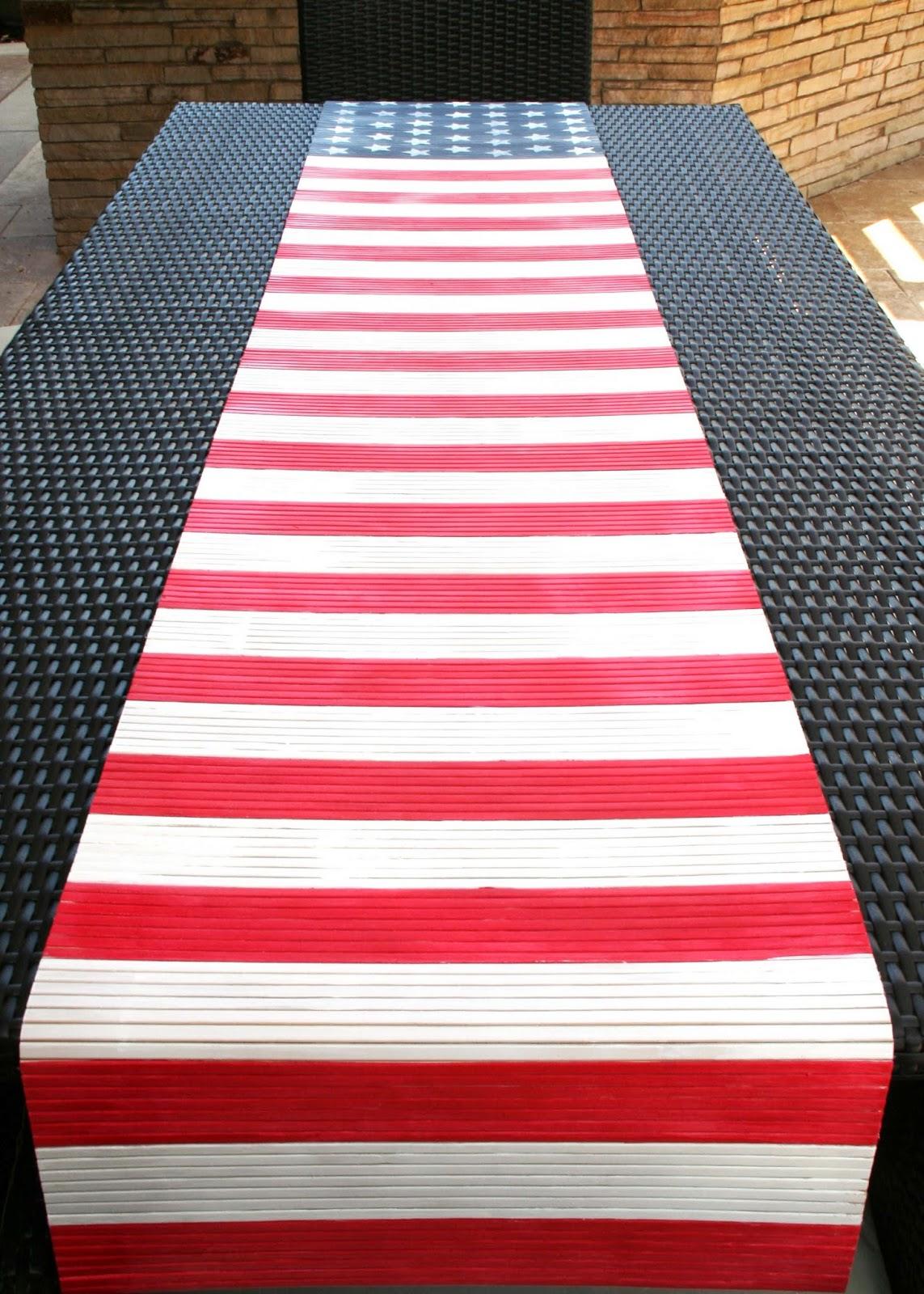 Make Flag Table Runner