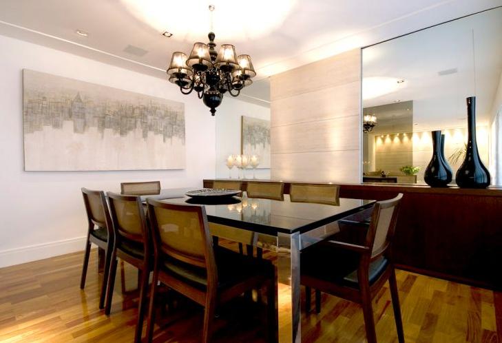 Sala De Jantar Inox E Vidro ~ Design Inox Mesa de jantar em aço inox e vidro fumê