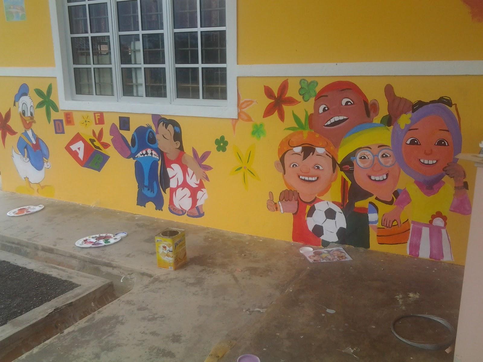 Duniaku for Mural untuk kanak kanak