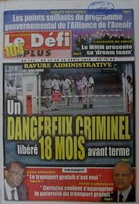 Mauritius Newspapers - Le Defi Plus