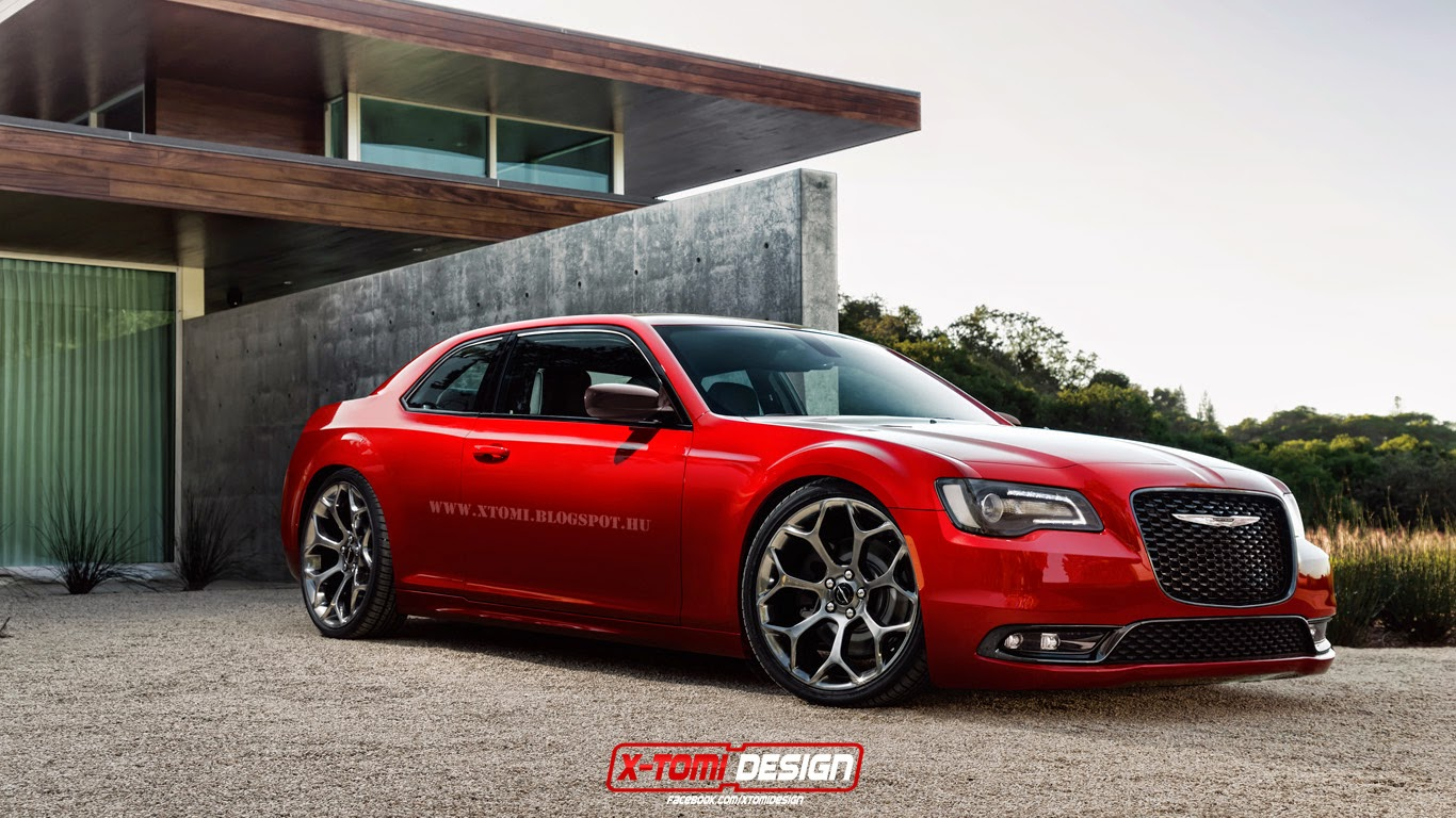 new chrysler 300s coupe design study meh or yeah. Black Bedroom Furniture Sets. Home Design Ideas