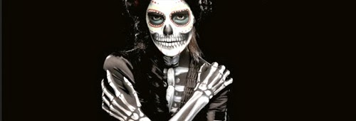 body paint esqueleto para halloween