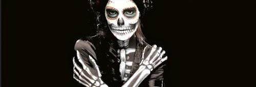 body paint esqueleto para halloween