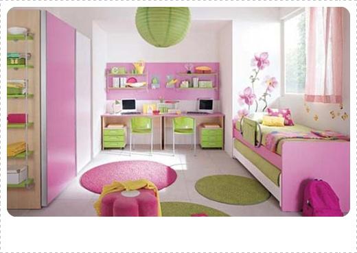 cara desain kamar tidur anak perempuan