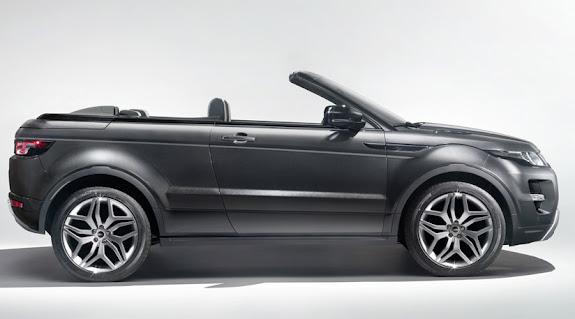 Range Rover Evoque descapotável