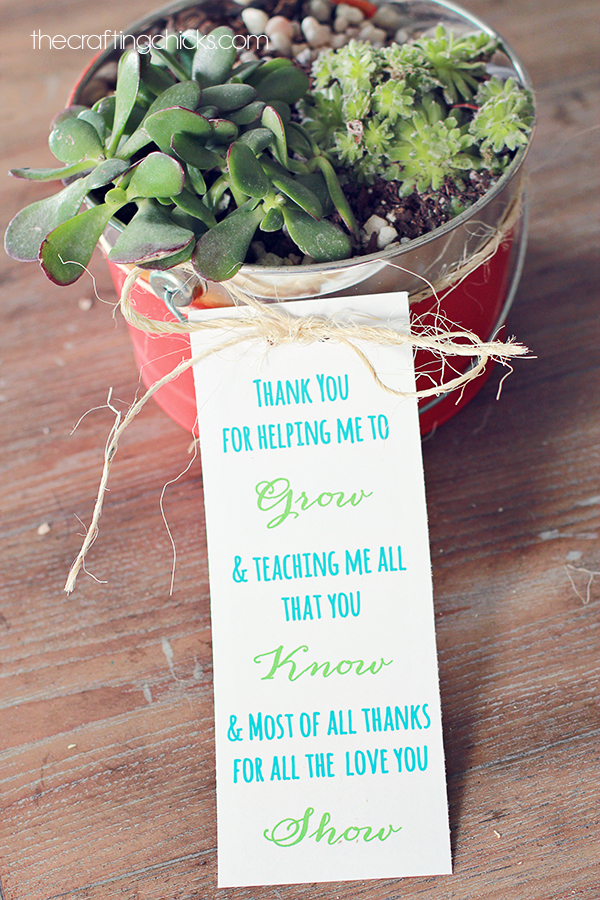 pitterandglink  the crafted collective  60 teacher appreciation gift ideas