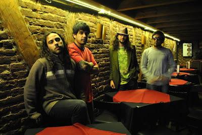 Foto de Salamandra en la gira a Chile 2011