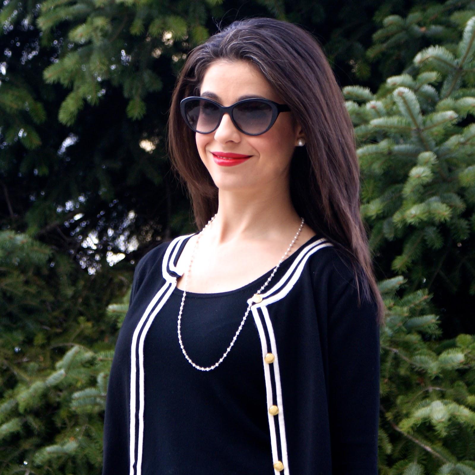 chaqueta inspiración Chanel
