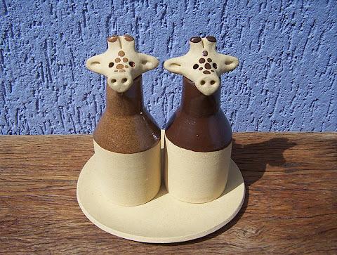 "Conjunto ""Girafas Galheteiro"""