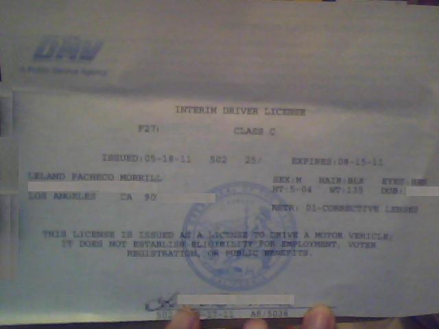 California Dmv Permit