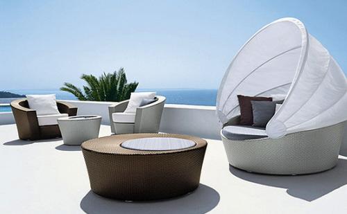 Modern patio furniture June 2012