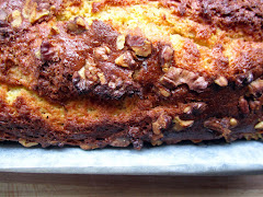 Orange Ginger and Walnut Cake