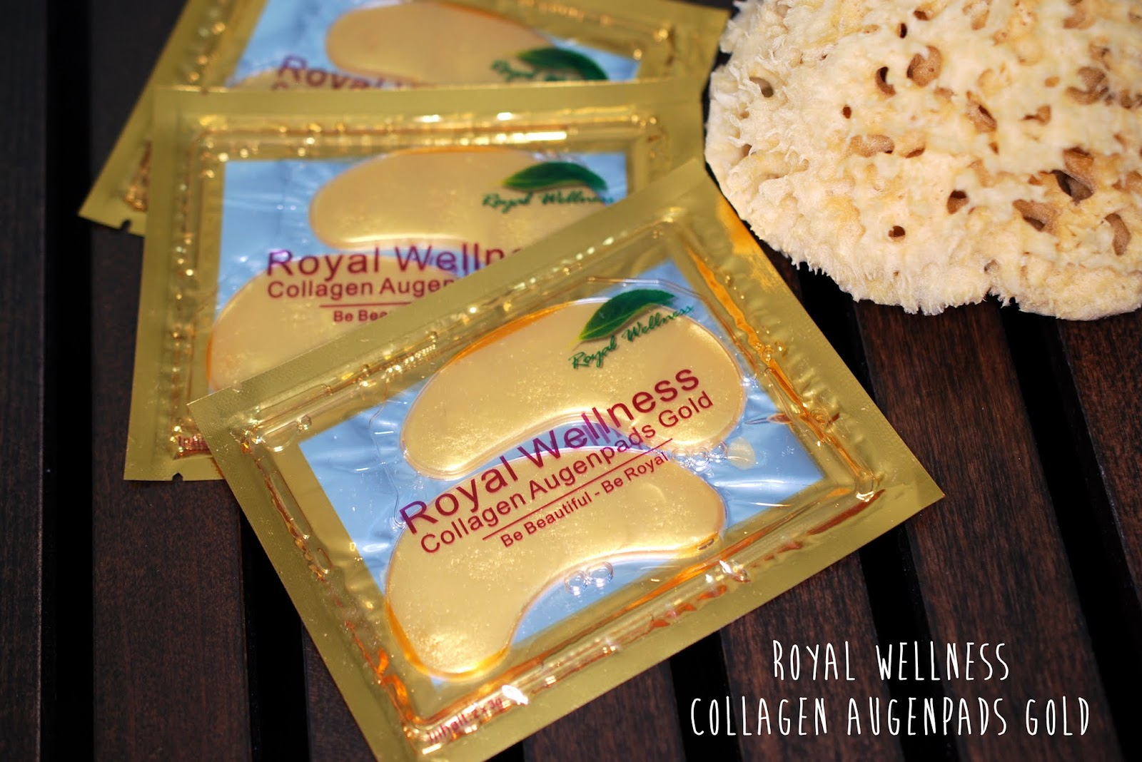 Royal Wellness Collagen Augenpads Gold