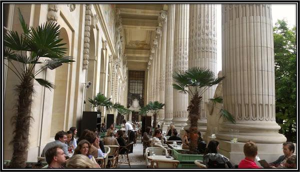 terrasse Bar à glaces du MINIPALAIS, restaurant Grand Palais Paris