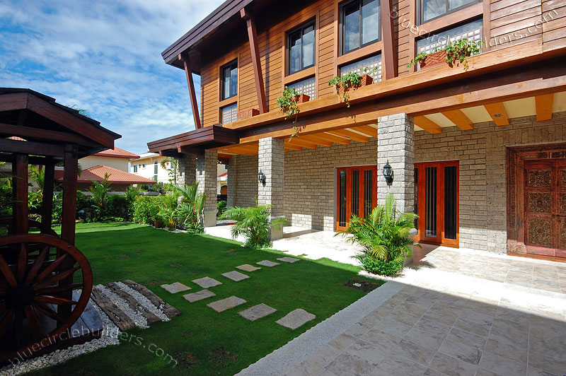 Model home in the philippines modern house plans designs for Home garden design in the philippines