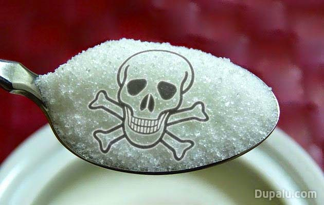 Cucharada de azúcar refinado -  Imagen dupalu.com