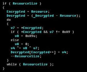 Flameリソース復号化アルゴリズム:ESETセキュリティブログ
