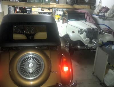 Dois MPs - uma garagem