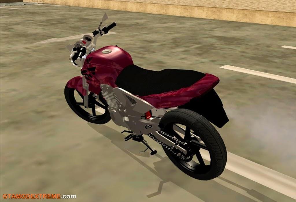 Baixar moto Honda CBX 250 Twister 2008 Para GTA San Andreas