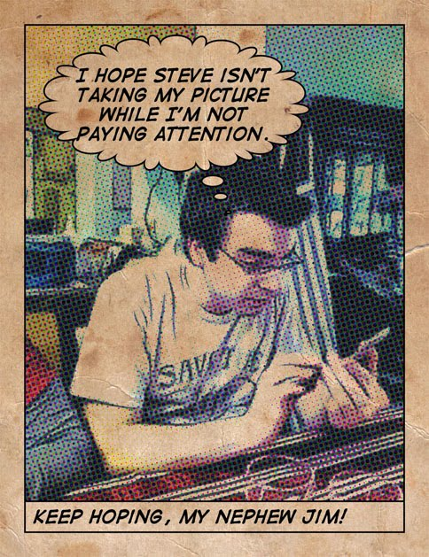 Create A Vintage Comic Look With ToonPAINT And Halftone For The IPhone