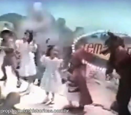 Propaganda do Cremogema nos anos 80 com seu clássico jingle.