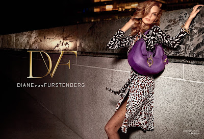 Diane von Furstenberg's Fall 2013 Ad Campaign Styled by Carine Roitfeld!