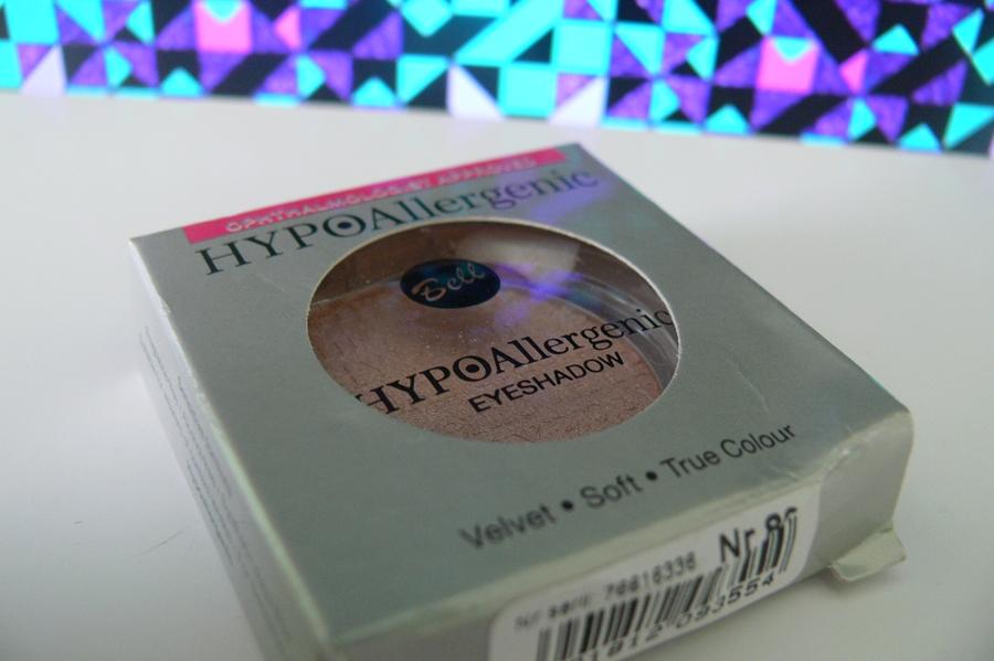 Bell, HYPOAllergenic Eyeshadow Hipoalergiczny pojedynczy cień do powiek nr 80