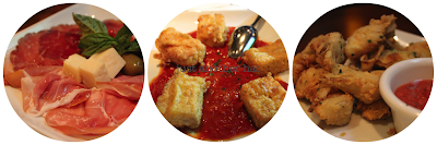 antonello appetizers prosciutto mozzarella artichoke hearts