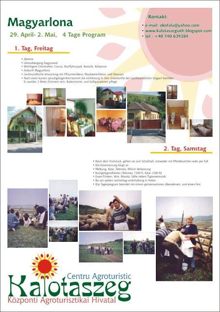 Kalotaszegi Központi Agroturisztikai Hivatal  április 2011 e7bd740a62
