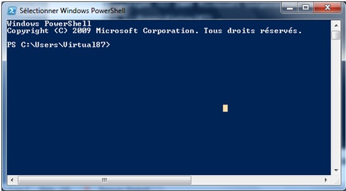 Blog tuto pro powershell la base des bases for Fenetre dos windows 8