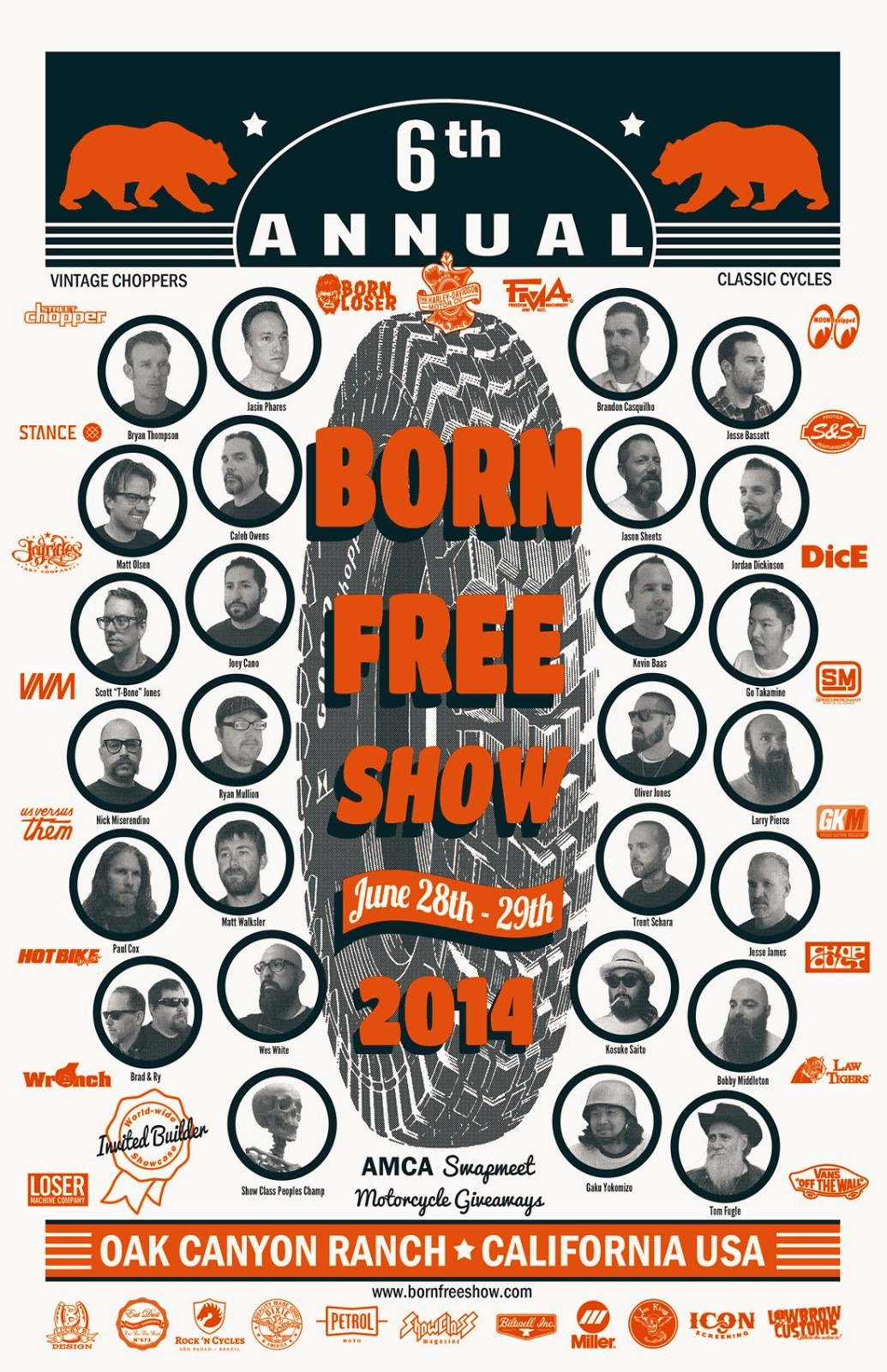 Born Free 6 Builder Invite