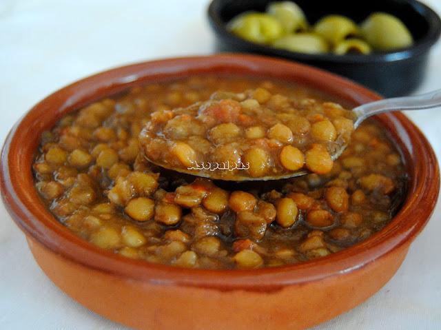 Sopa de Lentejas del Monasterio del Monte Atos