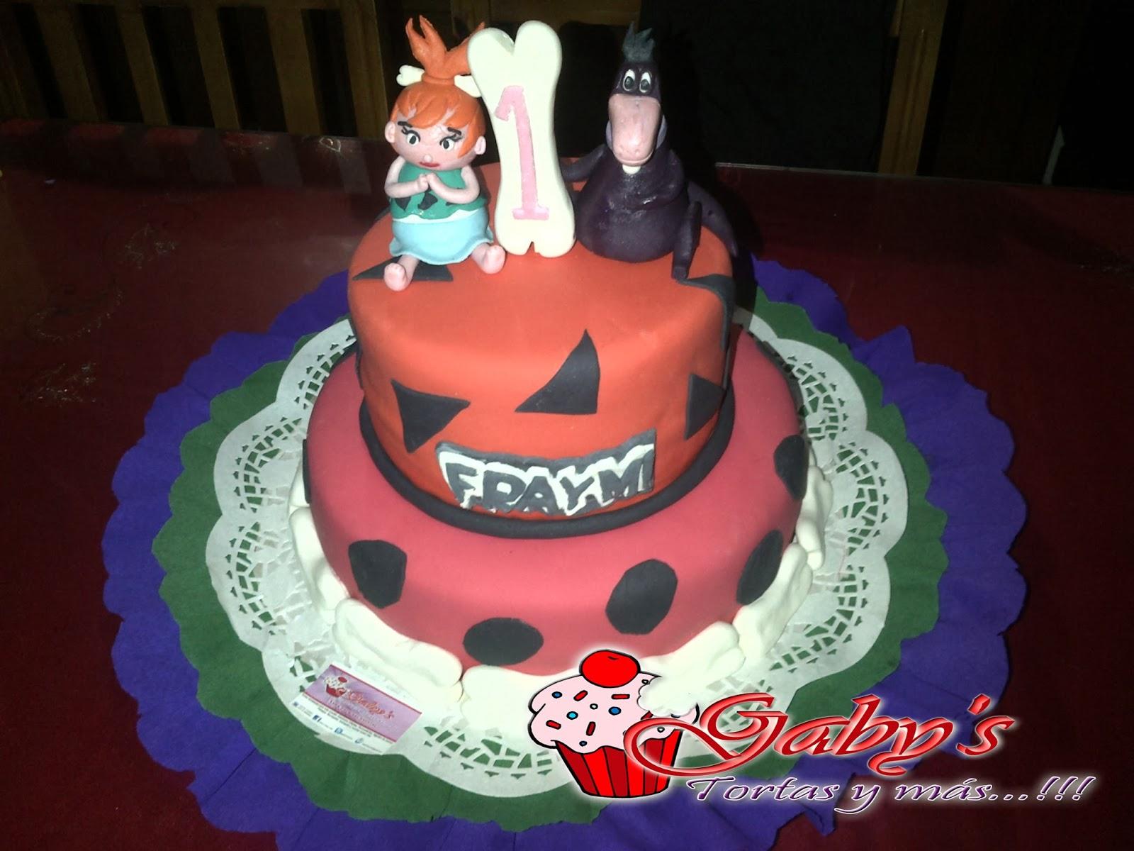 Gaby´s Tortas y Más!: Rica torta de Pebbles!!