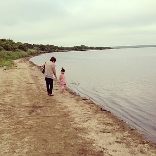 On the shore of Lake Utonai in Hokkaido.