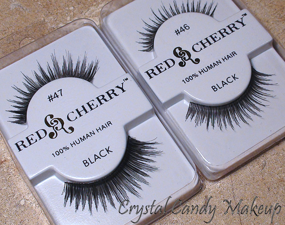 Faux-cils #46 et #47 de Red Cherry - Eyelashes