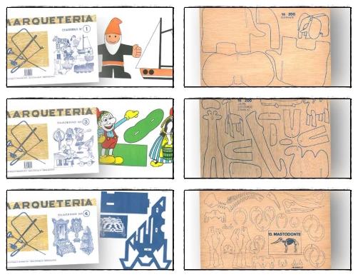 Plantilla marqueter a para ni os y adultos marqueter a y - Casas de marqueteria ...