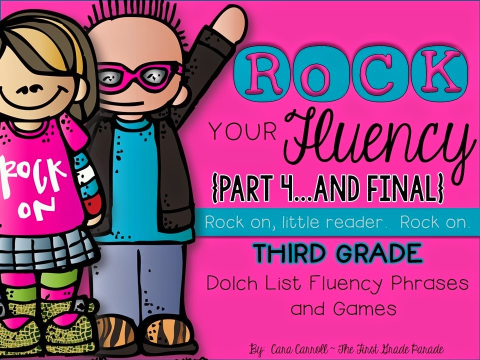Rock Your Fluency 3rd Grade