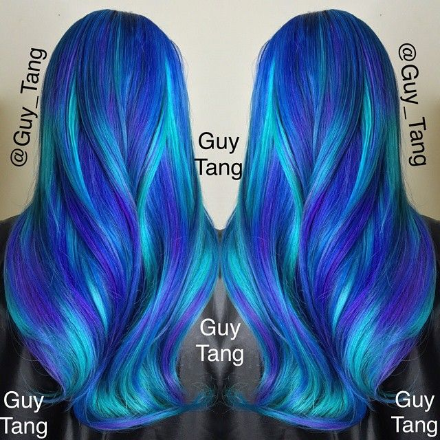 Absolutely Stunning Hair Colors By Guy Tang