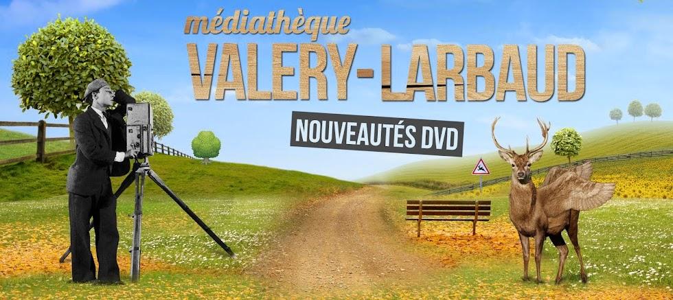 Les nouveautés DVD de la Médiathèque Valery-Larbaud