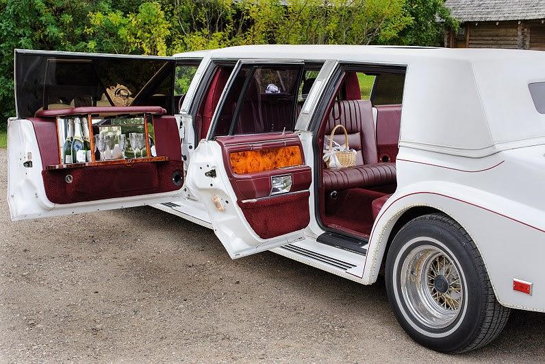 vestuvių limuzinas