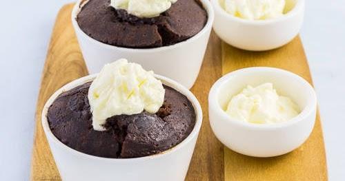 軟心朱古力布甸【驚喜甜品】Chocolate Self-Saucing Pudding