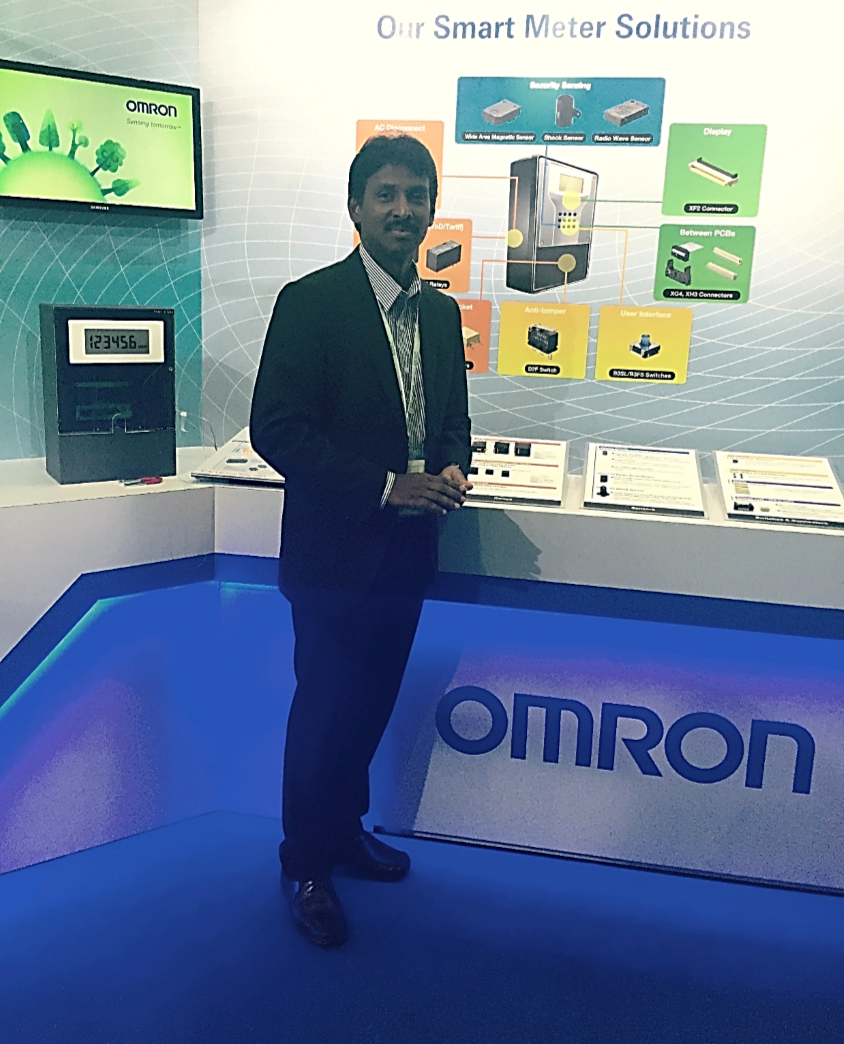 OMRON showcases new concepts and products for Smart Meters